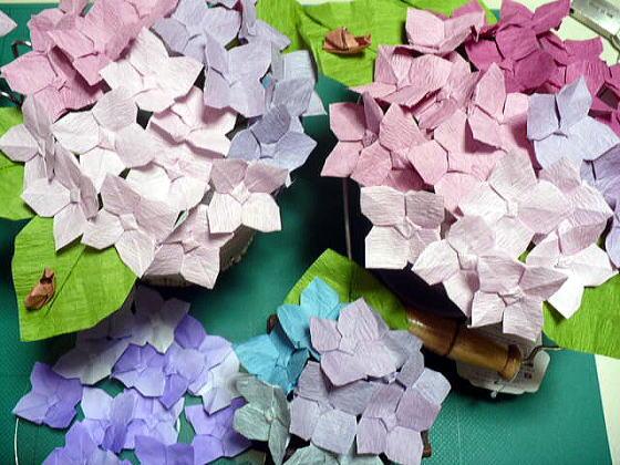 折り 折り紙 折り紙 紫陽花 : hagifood.com
