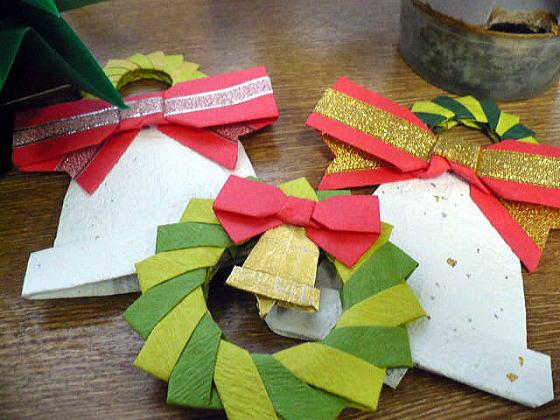クリスマス 折り紙 折り紙 ベル : rsntnt.blog.so-net.ne.jp