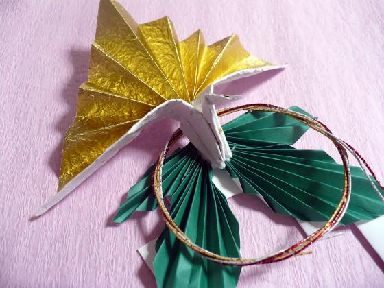 簡単 折り紙 折り紙 お正月飾り 折り方 : hagifood.com