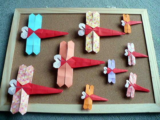 簡単 折り紙 折り紙 トンボ 折り方 : divulgando.net