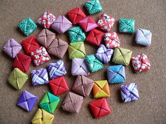 すべての折り紙 千代紙折り方花 : ... 折り方をまとめて紹介♪ | iemo
