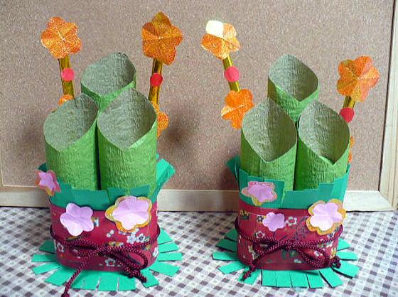 簡単 折り紙 折り紙 お正月飾り 折り方 : divulgando.net