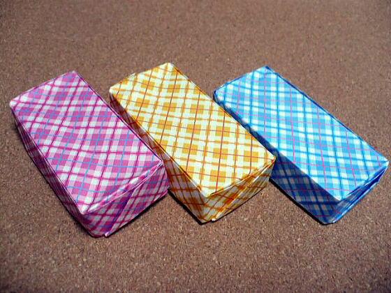ハート 折り紙 折り紙箱折り方長方形 : divulgando.net