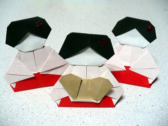 簡単 折り紙:お雛様 折り紙 折り方 簡単-divulgando.net