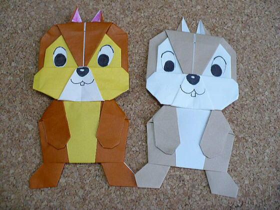 ハート 折り紙:ミッキーマウス折り紙折り方-eigaflex.com