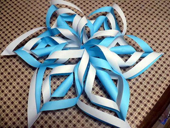 すべての折り紙 雪の結晶 作り方 折り紙 : ペーパークラフト 雪の結晶 ...