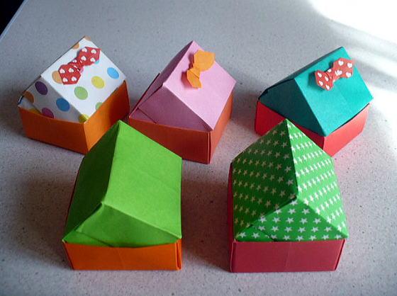 ハート 折り紙 折り紙 入れ物 簡単 : divulgando.net