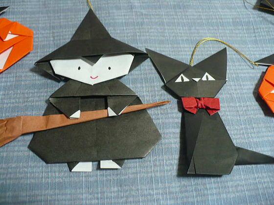 すべての折り紙 魔女の帽子 折り紙 : ほうきにちょっと無理がある ...