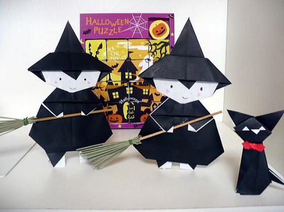 すべての折り紙 折り紙 キャンディボックス : 今年はほうきを作ってみました ...