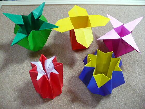 簡単 折り紙 両面折り紙 折り方 : divulgando.net