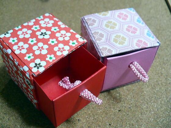 ハート 折り紙 折り紙 可愛い箱 : divulgando.net