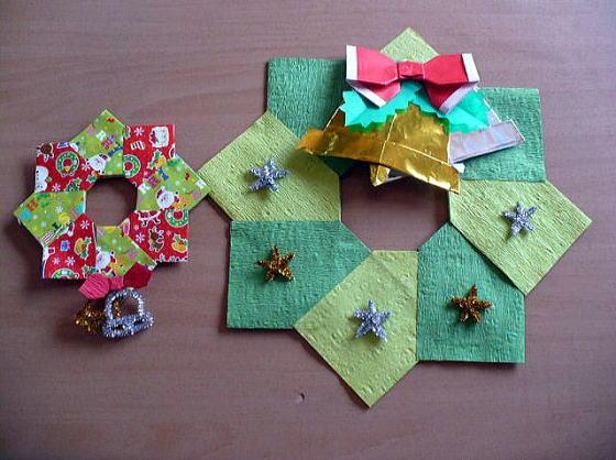 ハート 折り紙:折り紙クラブクリスマス-divulgando.net