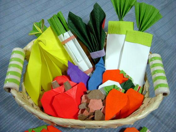 ハート 折り紙:果物 折り紙-divulgando.net