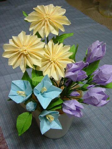 クリスマス 折り紙 折り紙 菊の花 : rsntnt.blog.so-net.ne.jp